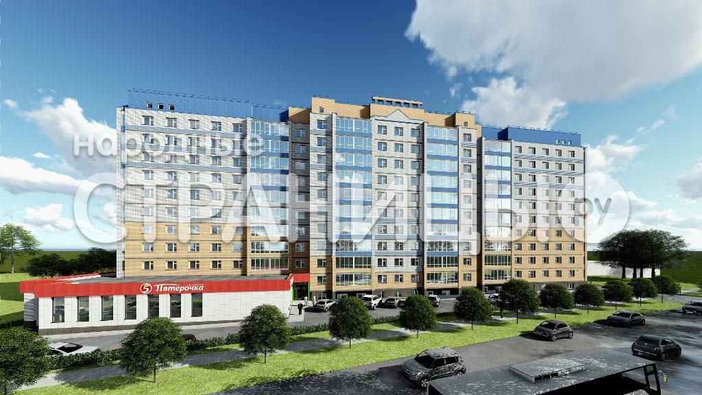 2-комнатная квартира, 58.7 м²,  2/10 эт. Кирпичный дом