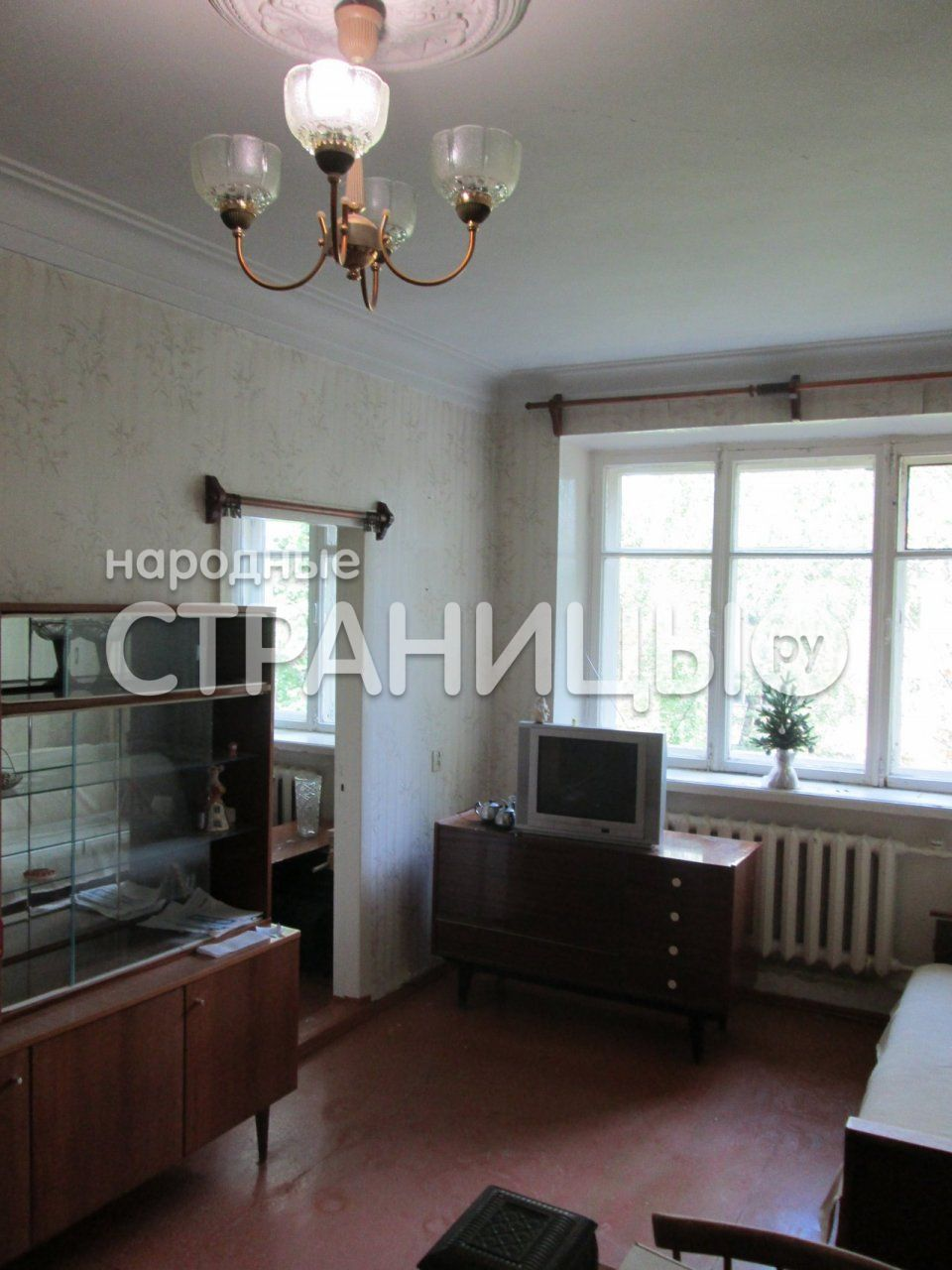 2-комнатная квартира, 43.0 м²,  3/3 эт. Кирпичный дом