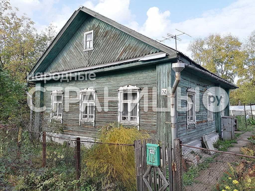 Дом 62.8 кв.м. 1 эт.  Деревянный