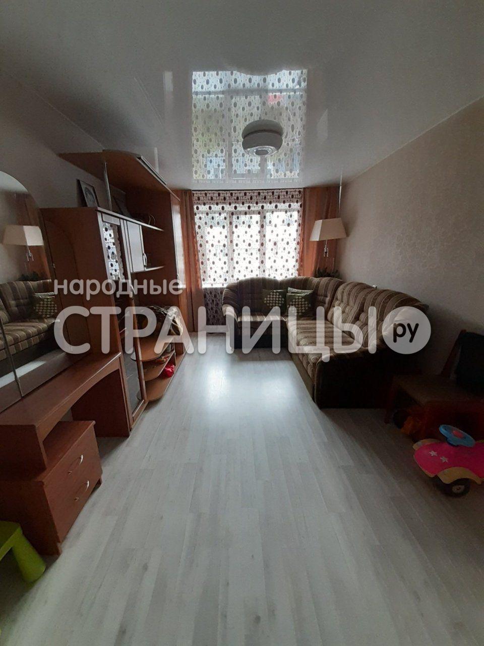 2-комнатная квартира, 53.0 м²,  3/3 эт. Панельный дом