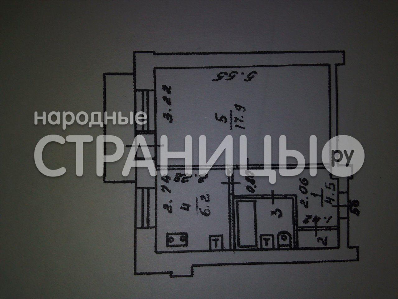 1-комнатная квартира, 33.0 м²,  1/1 эт. Кирпичный дом