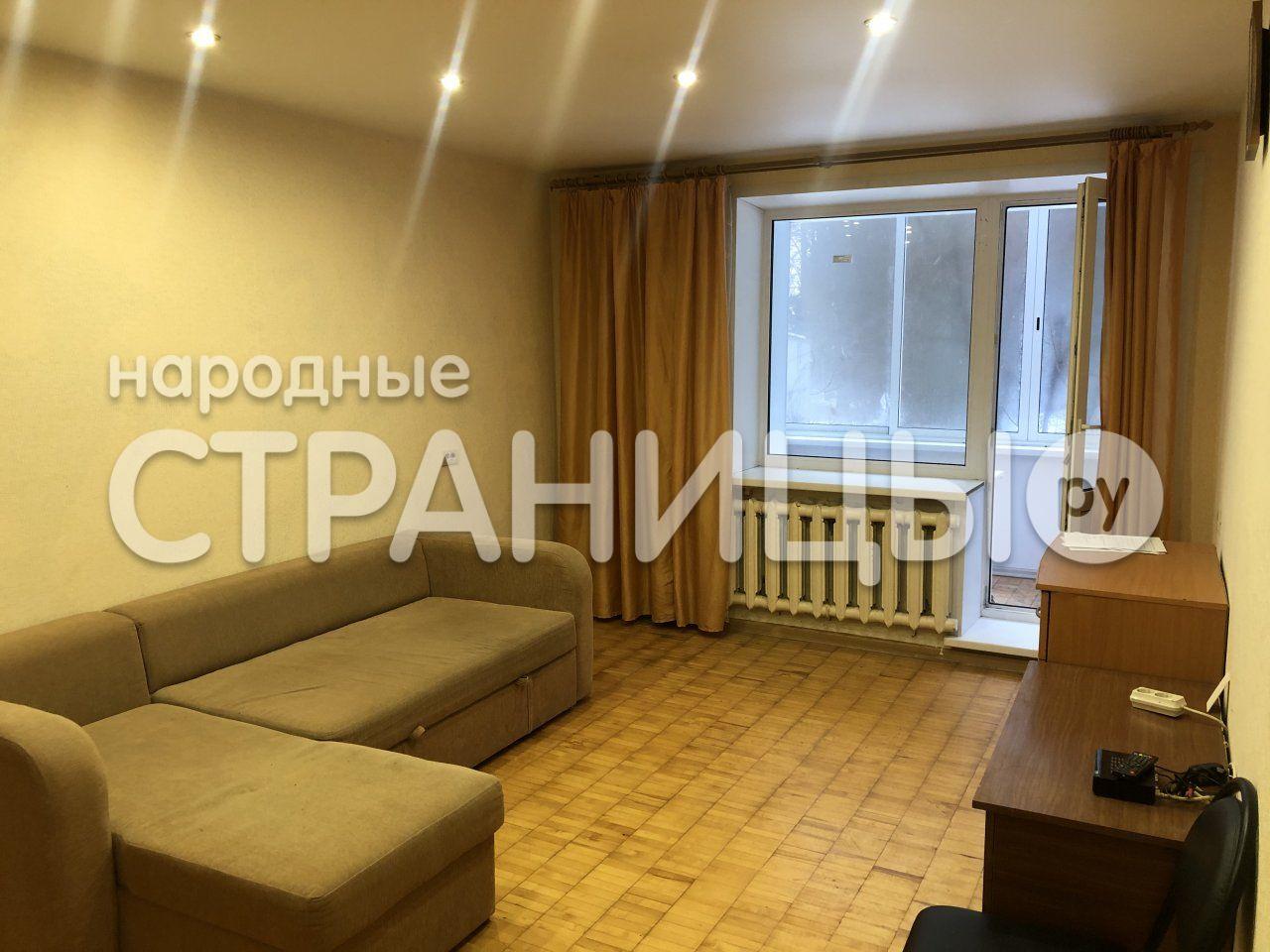 1-комнатная квартира, 34.1 м²,  1/5 эт. Кирпичный дом