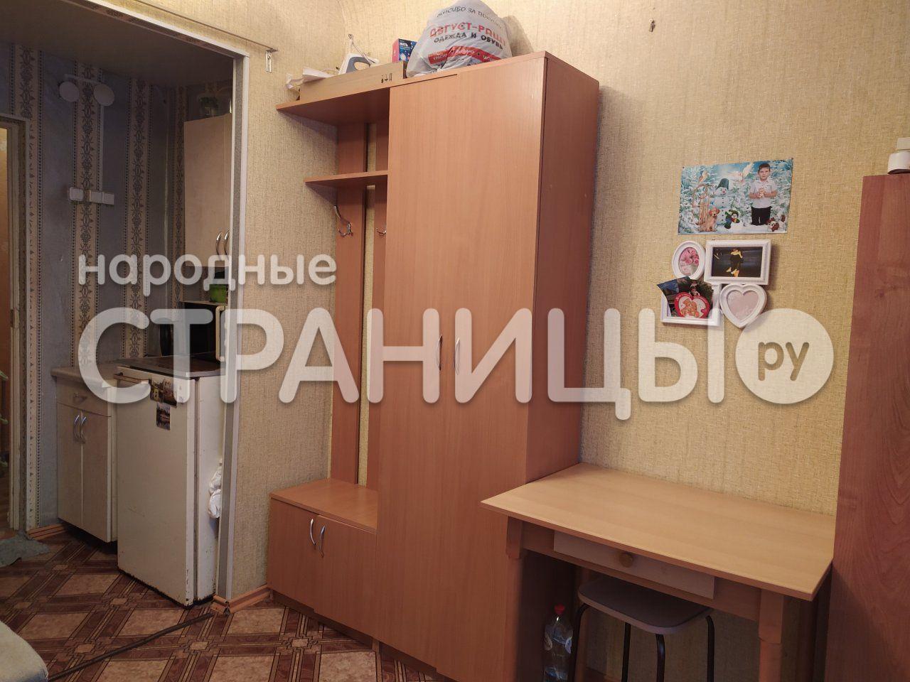 Комната в 1-к кв. 1 этаж, 16.87 кв.м.