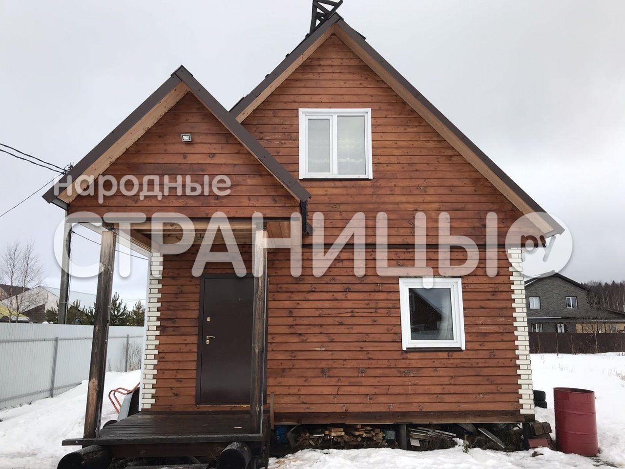 Дом 62.0 кв.м. 2 эт.  Деревянный