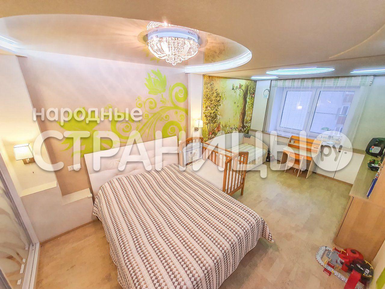 2-комнатная квартира, 61.6 м²,  6/9 эт. Кирпичный дом