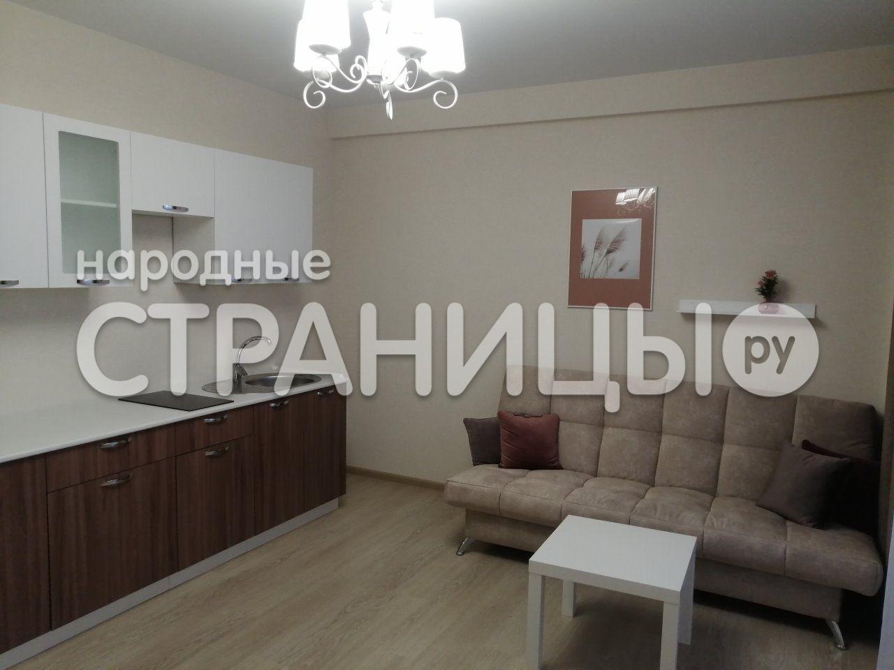 1-комнатная квартира, 37.5 м²,  10/14 эт. Кирпичный дом