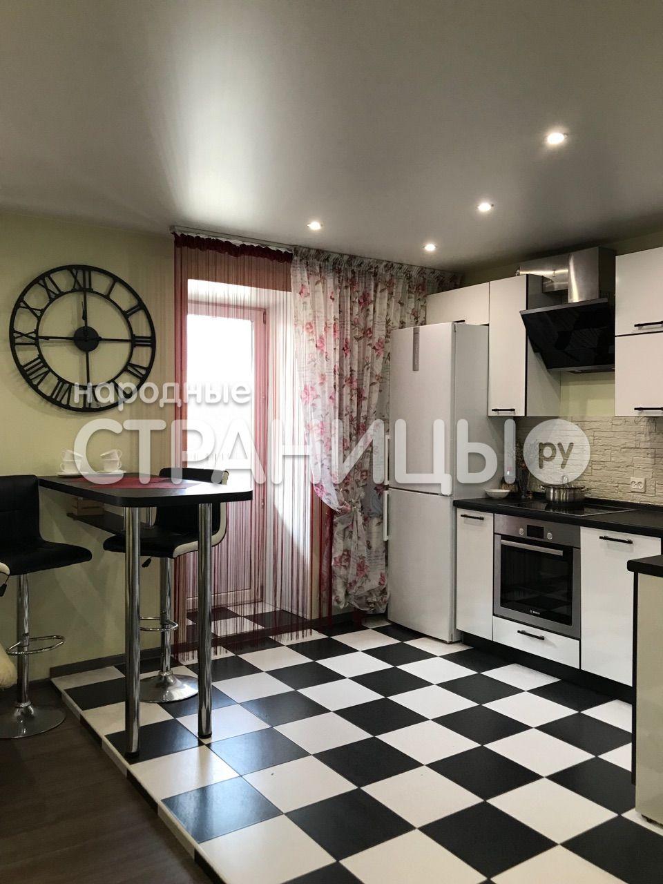 2-комнатная квартира, 53.5 м²,  4/10 эт. Кирпичный дом