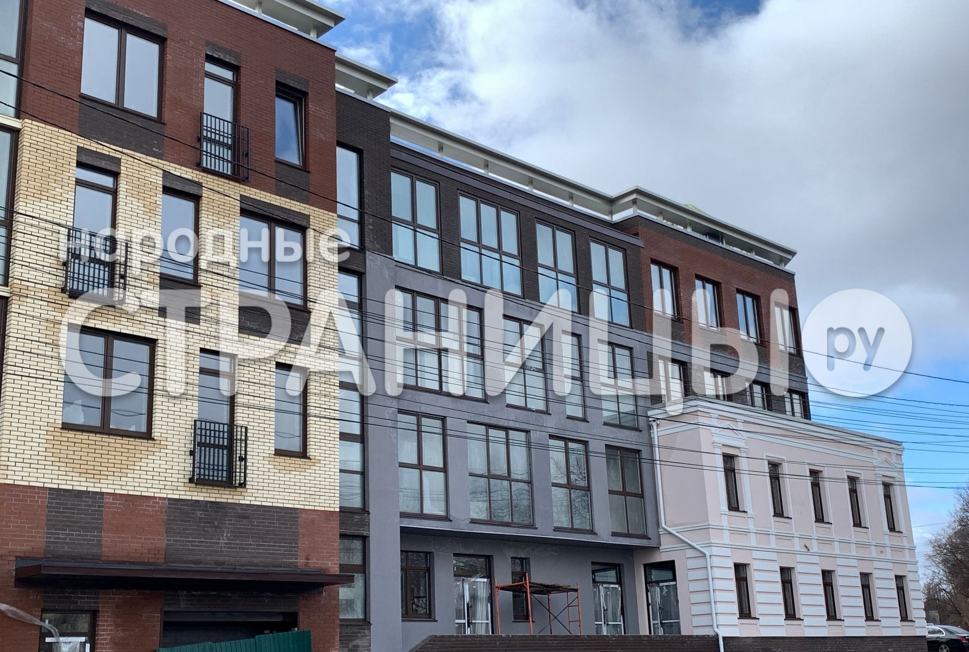 2-комнатная квартира, 93.6 м²,  4/5 эт. Кирпичный дом