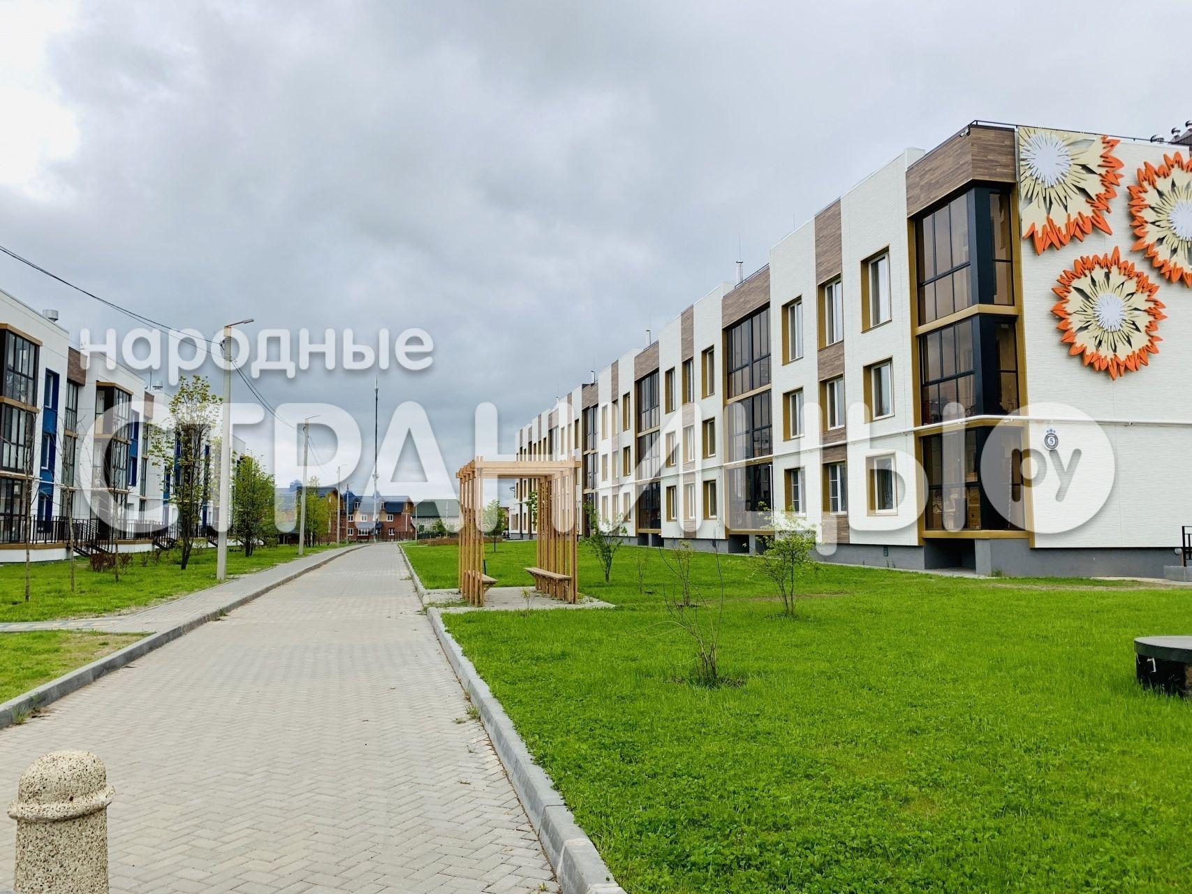 2-комнатная квартира, 52.17 м²,  2/4 эт. Кирпичный дом