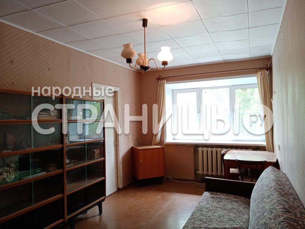 3-комнатная квартира, 53.5 м²,  1/4 эт. Кирпичный дом