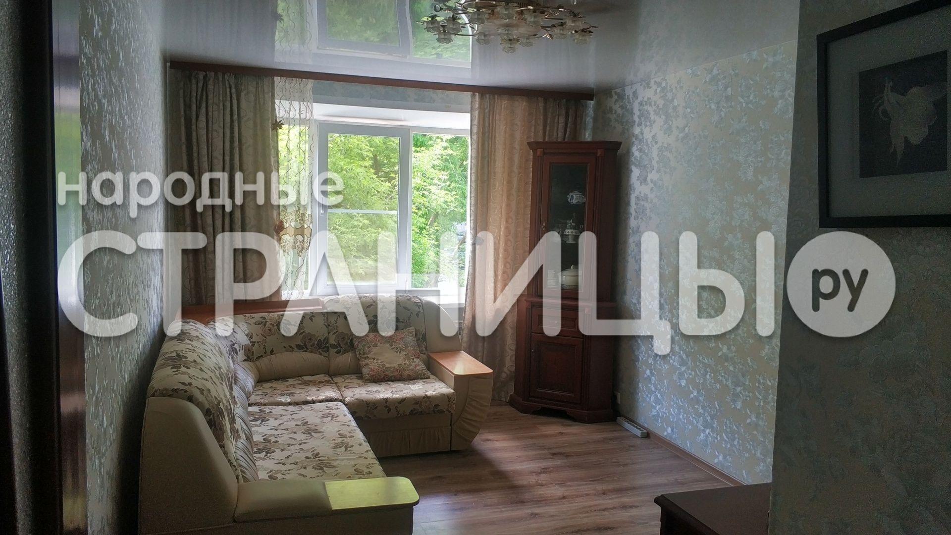3-комнатная квартира, 52.0 м²,  2/5 эт. Кирпичный дом