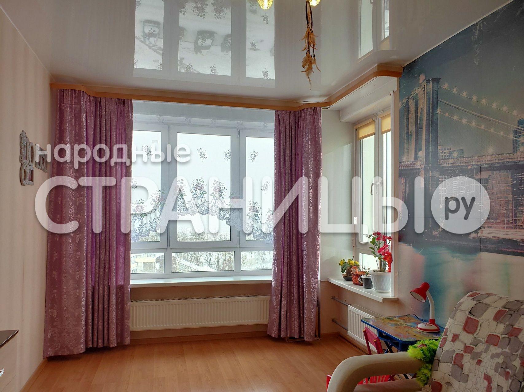 2-комнатная квартира, 54.0 м²,  6/17 эт. Монолитный дом, Вторичное жилье