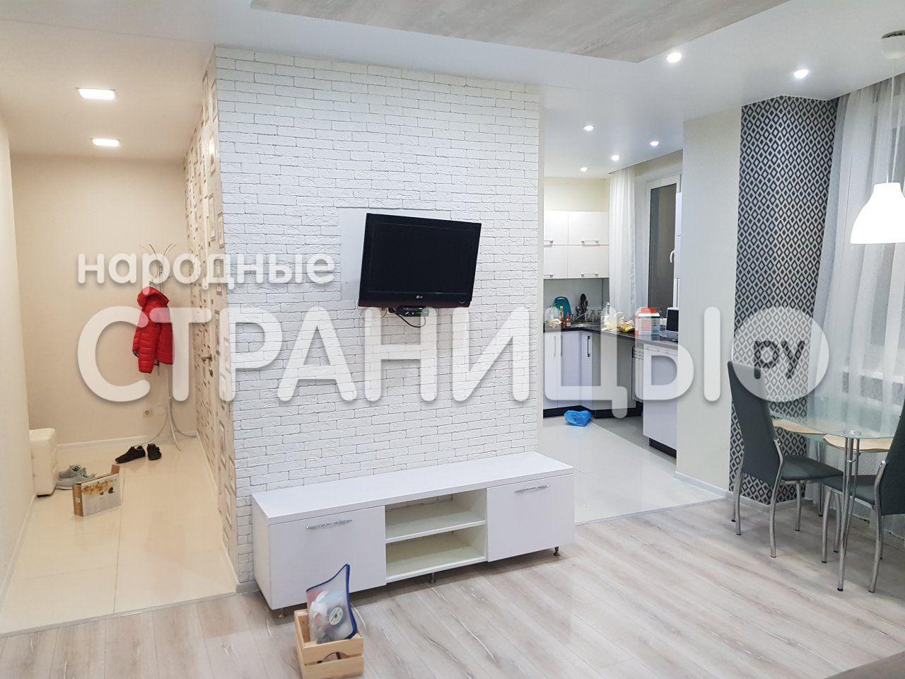 2-комнатная квартира, 41.0 м²,  17/25 эт. Кирпичный дом, Вторичное жилье