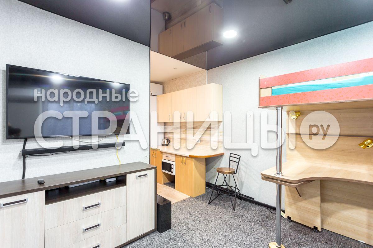 1-комнатная квартира, 17.1 м²,  5/5 эт. Кирпичный дом, Вторичное жилье