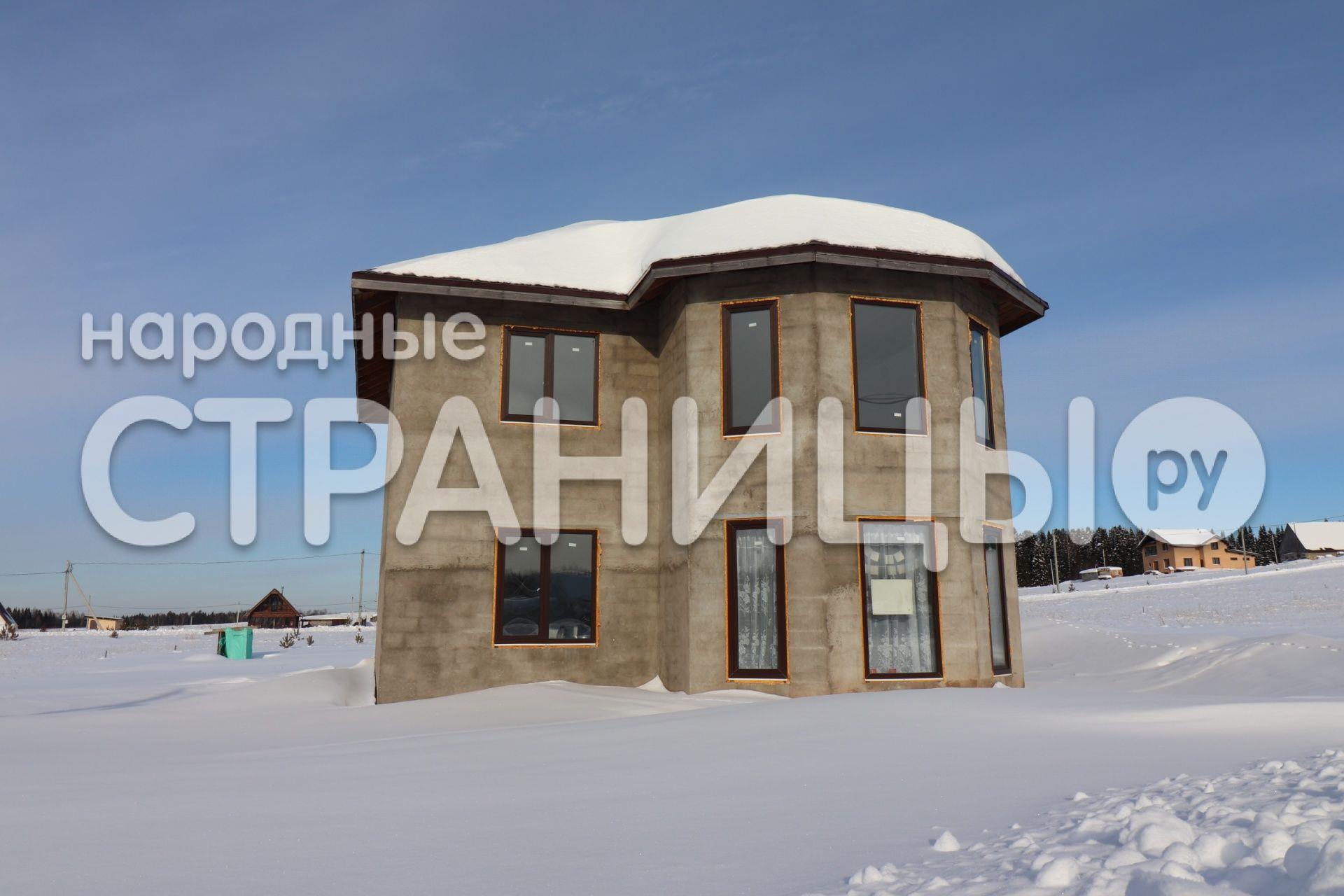 Дом 154.0 кв.м. 2 эт.  Блочный