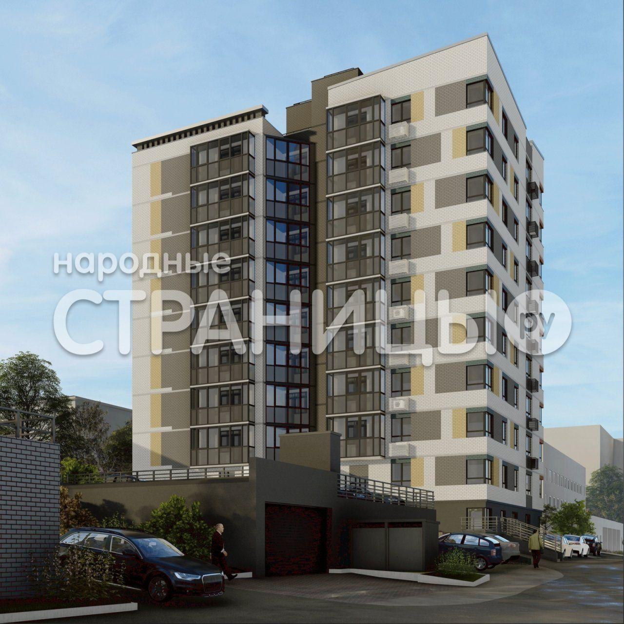 2-комнатная квартира, 56.4 м²,  3/9 эт. Кирпичный дом, Вторичное жилье