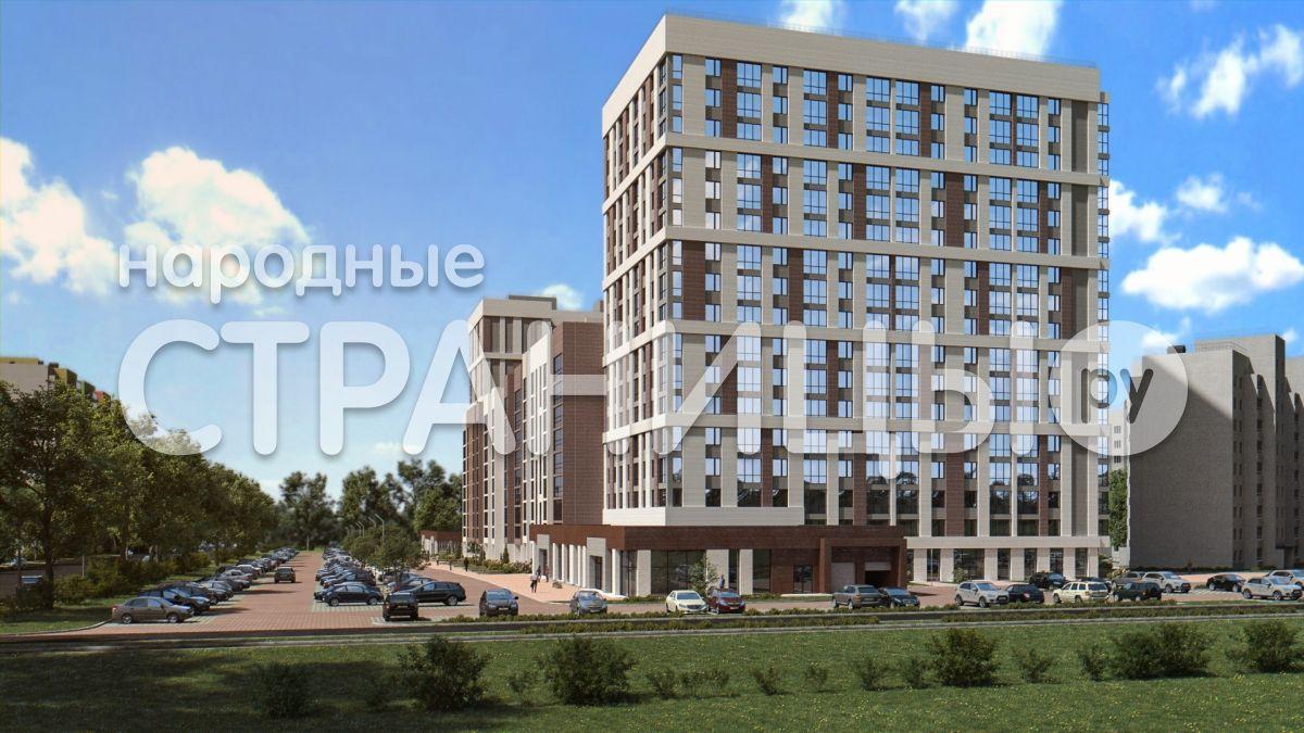 2-комнатная квартира, 43.8 м²,  4/17 эт. Кирпичный дом, Вторичное жилье
