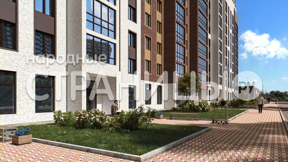 1-комнатная квартира, 39.9 м²,  4/17 эт. Кирпичный дом, Вторичное жилье